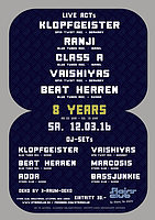 Party Flyer 8 Jahre Stairs Club - Big Party 12 Mar '16, 23:00