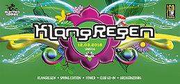 Party Flyer KlangRegen 12 Mar '16, 22:00
