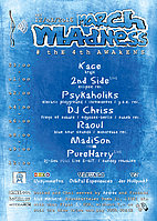 Party Flyer MARCH madNESS 12 Mar '16, 23:00