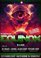 Party Flyer EQUINOX - Psyzone Lab party 19 Mar '16, 22:00