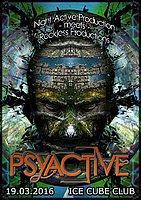 Party Flyer PSYACTIVE 19 Mar '16, 21:00
