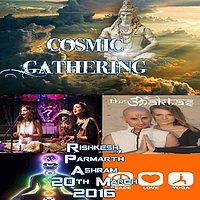 Party Flyer Cosmic Electronic Mantra Music Gathering 20 Mar '16, 22:00