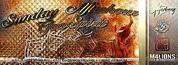 Party Flyer SUNDAY AFTERHOUR GoaSpirit Club Gutenberg - Enge ZH 20 Mar '16, 12:00