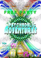 Party Flyer ★ PSY ADVENTURES ★ PASQUA EDITION ★ 25 Mar '16, 23:30