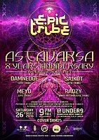 Party Flyer EPIC Tribe pres. ASTAVARSA - 8 YEARS ANNIVERSARY 26 Mar '16, 21:00