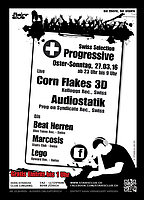 Party Flyer Swiss Collection Progressive 27 Mar '16, 23:00
