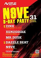 Party Flyer N9ve Birthday Party - Act1 31 Mar '16, 23:30