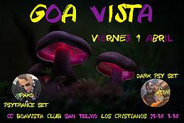 Party Flyer GOAVISTA-CC BOAVISTA SAN TELMO 1 Apr '16, 23:30