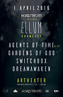 Party Flyer HERZSTROM ::: Ellum Showcase 1 Apr '16, 23:00