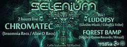 Party Flyer SELENIUM // CHROMATEC Live!!! (DE) 1 Apr '16, 23:30