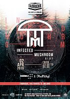 Party Flyer Infected Mushroom 2 Apr '16, 23:00