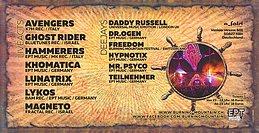 Party Flyer Burning Mountain Pre Party - Cologne / Köln 8 Apr '16, 23:00