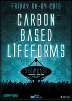 Party Flyer Carbon Based Lifeforms @ Rote Fabrik 8 Apr '16, 19:30