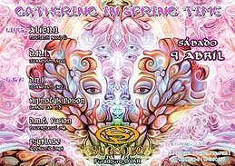 Party Flyer GATHERING IN SPRING TIME 9 Apr '16, 23:30