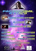 Party Flyer PARANORMAL ATTACK \\ The Return to the Origins 9 Apr '16, 23:30