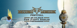 Party Flyer Second Horizon Festival Pre Party Berlin 9 Apr '16, 23:00