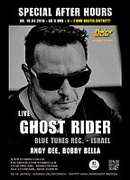 Party Flyer Special After Hours with Ghost Rider - live 10 Apr '16, 06:00