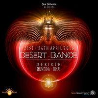 Party Flyer DESERT DANCE - Open Air Festival - 2016 21 Apr '16, 18:00