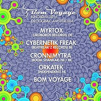 Party Flyer Bom Voyage Kingsday Party 27 Apr '16, 12:00