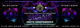 Party Flyer SIGNS III meets IndepenDANCE 29 Apr '16, 23:00