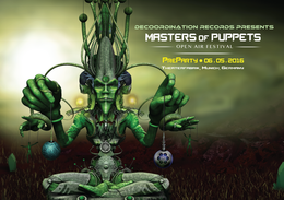 Party Flyer Masters of Puppets Open Air - Preparty ( by DeCoOrdiNatioN ) 6 May '16, 22:00