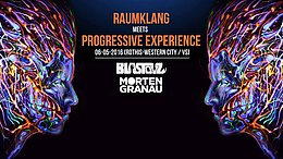 Party Flyer RAUMKLANG meets PROGRESSIVE EXPERIENCE 6 May '16, 23:00