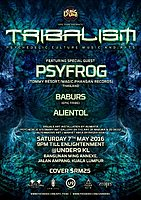 Party Flyer EPIC Tribe pres. TRIBALISM 7 May '16, 21:00