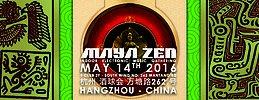 Party Flyer MAYA ZEN - Indoor Electronic Music Gathering 14 May '16, 21:00