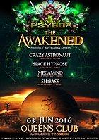Party Flyer Psybox - The Awakened 3 Jun '16, 22:00