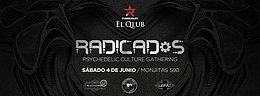 Party Flyer Radicados: Psychedelic Culture Gathering 4 Jun '16, 23:00