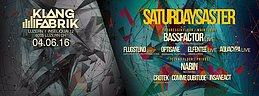 Party Flyer SaturDaySaster 4 Jun '16, 23:00
