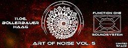 Party Flyer Art of Noise: 1st Anniversary/ Vasco LIVE/ FUNKTION ONE SOUNDSYSTEM 11 Jun '16, 22:00