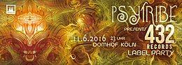 PSY TRIBE presents: 432 Records LABEL NIGHT mit Phaxe, Morten Granau uvm. 11 Jun '16, 23:00