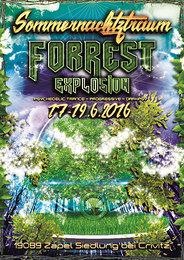 Party Flyer ForRest-Explosion Sommernachtztraum Festival 2016 17 Jun '16, 18:00