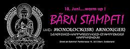 Party Flyer Bärn Stampft Warm UP 18 Jun '16, 22:00