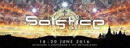Party Flyer SOLSTICE FESTIVAL 2016 18 Jun '16, 11:00