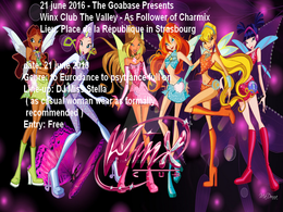 Party Flyer Free Party - Winx Club The Valley - the power of charmix 21 Jun '16, 20:00