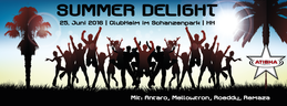 Party Flyer Atisha: Summer Delight 25 Jun '16, 22:00
