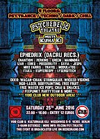 Psychedelic Theatre meets Kuha Ki 25 Jun '16, 22:00