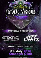 Party Flyer PSYBOX - *** JUNGLE VISIONS *** Pre Event with OFF LIMITS // STATIC MOVMENT .... 1 Jul '16, 22:00