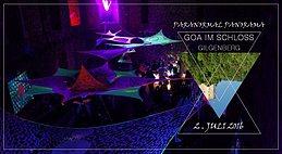 Party Flyer ۰ • ● Paranormal Panorama - Goa im Schloss ● • ۰ 2 Jul '16, 14:00