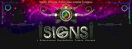 Party Flyer Signs - a psychedelic Trance journey 2 Jul '16, 23:00