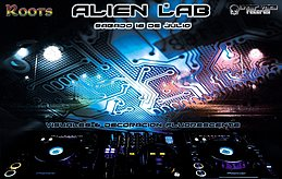 Party Flyer Alien LAB • Special Edition 16 Jul '16, 22:00