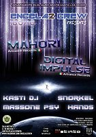 Party Flyer ENCELA2CREW PRESENTS:MAHORI & DIGITAL IMPULSE 16 Jul '16, 23:00