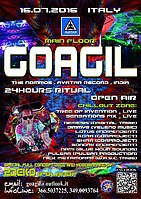 Party Flyer ૐૐૐ GOAGIL TRANCE DANCE INITIATION 2016 - OpEN AiR ૐૐૐ 16 Jul '16, 18:00