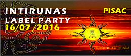 Party Flyer INTIRUNAS LABEL PARTY 16 Jul '16, 17:00