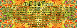 Party Flyer Chill Out Planet Festival 18 Jul '16, 16:00