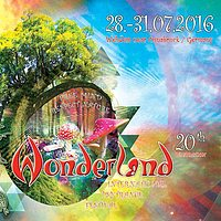 Party Flyer Waldfrieden Wonderland 2016 28 Jul '16, 16:00