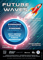 Party Flyer Future Waves 30 Jul '16, 23:00