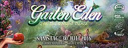 Party Flyer Garten Eden 30 Jul '16, 10:00